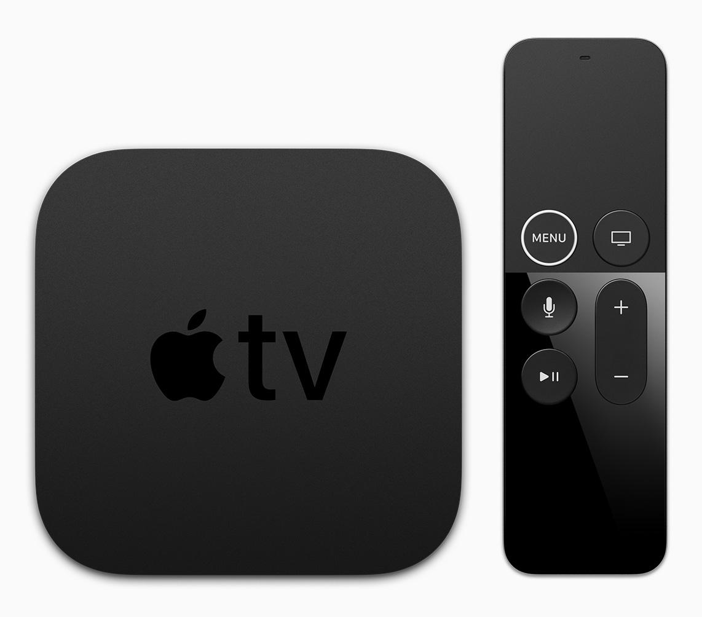 Apple TV 4k und die Remote