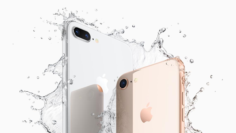 Das iPhone 8 ist wasserfest