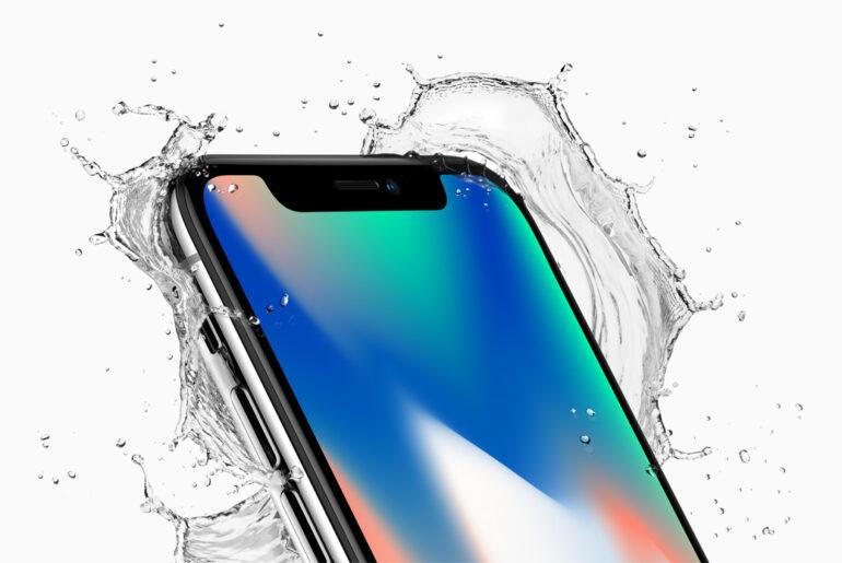 Apple iPhone X - wasserfest nach Ip67