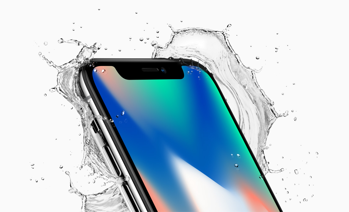 Apple iPhone X - wasserfest nach Ip67