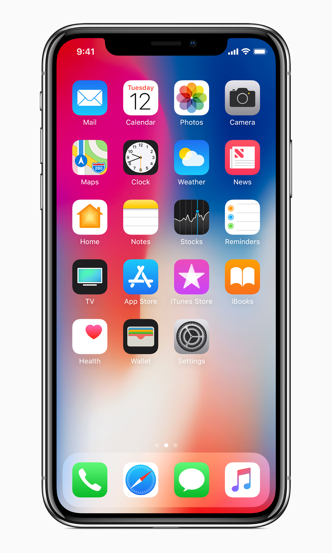 iPhone X - mehr Platz dank randlosem Design