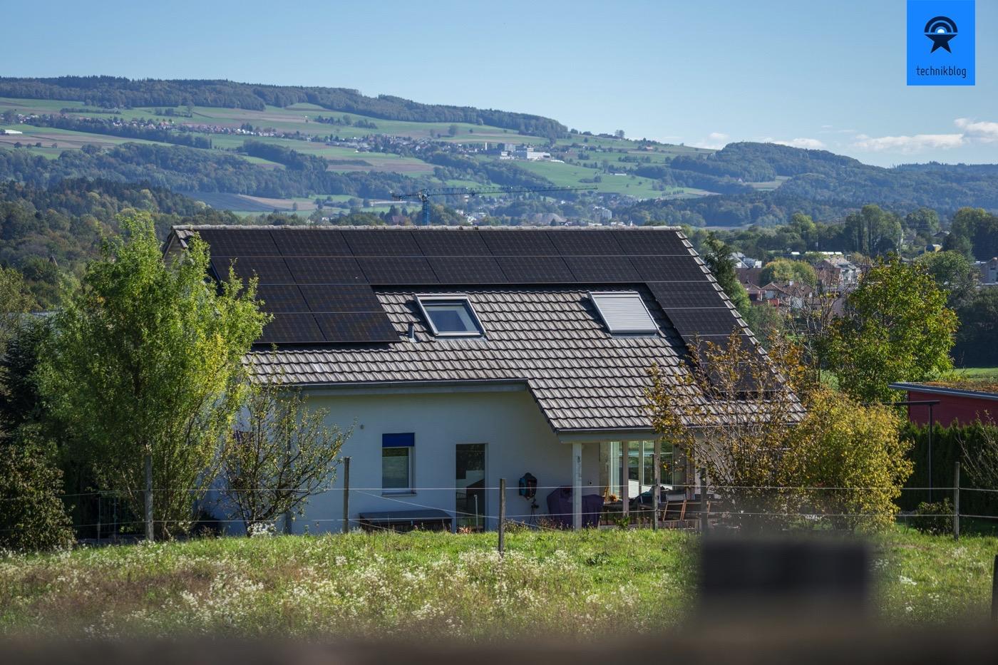 Meine Photovoltaik-Anlage auf dem West-Dach