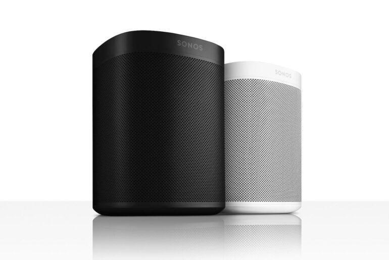 Sonos One - schwarz und weisse Version