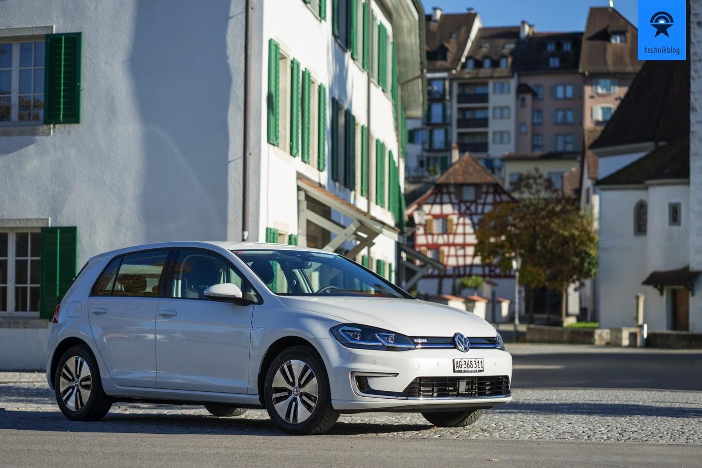 VW e-Golf Test