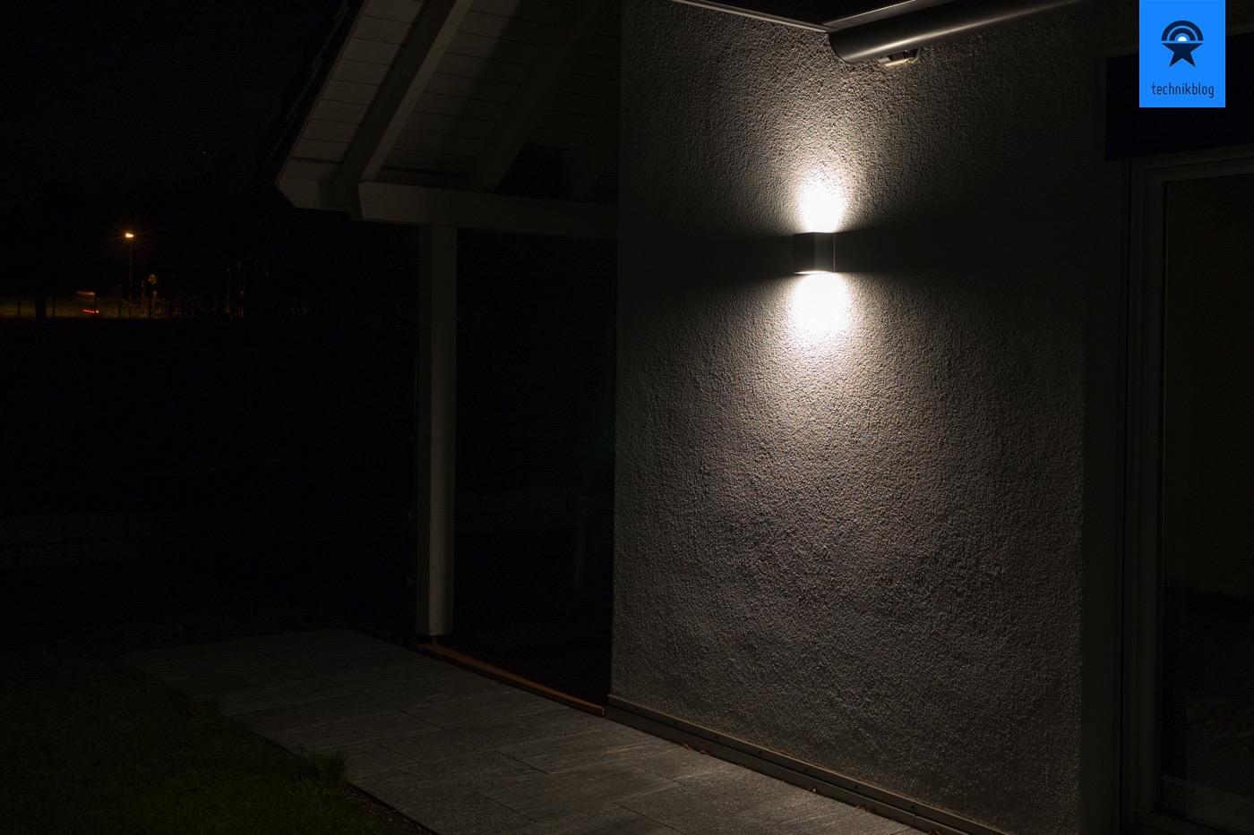 LED Wandleuchte mit schönem Effekt