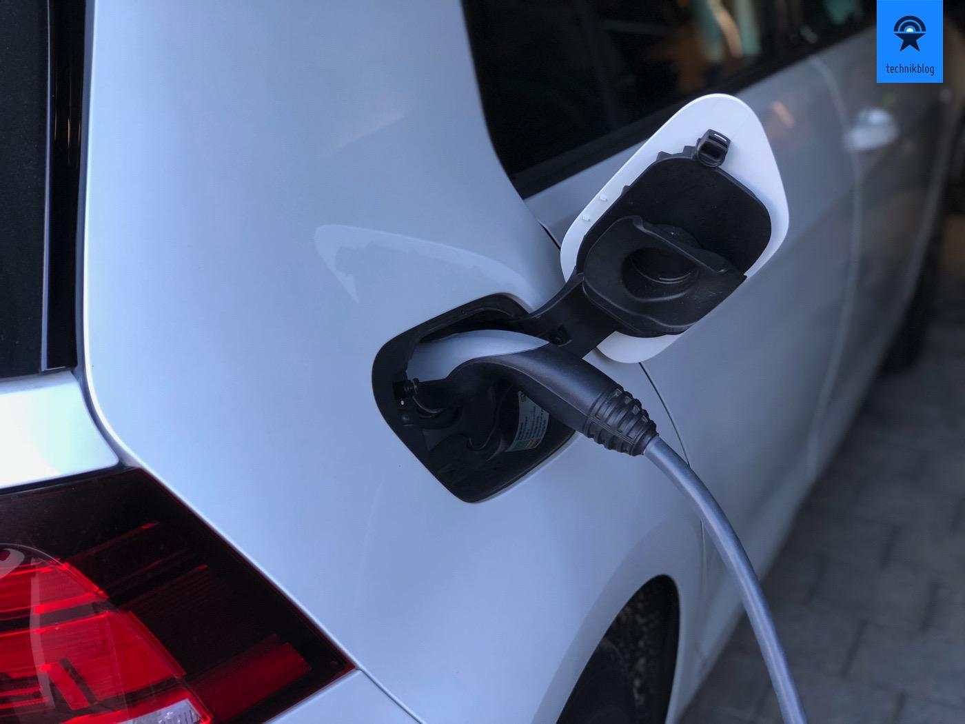 VW e-Golf an der Keba Wallbox aufladen