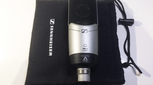Testbericht: Sennheiser MK 4 digital – betörend rauschfreies USB-Mikrofon