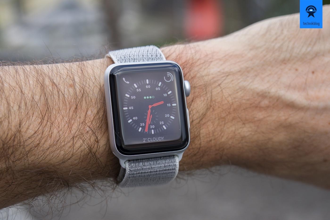 Apple Watch Series 3 LTE im Test