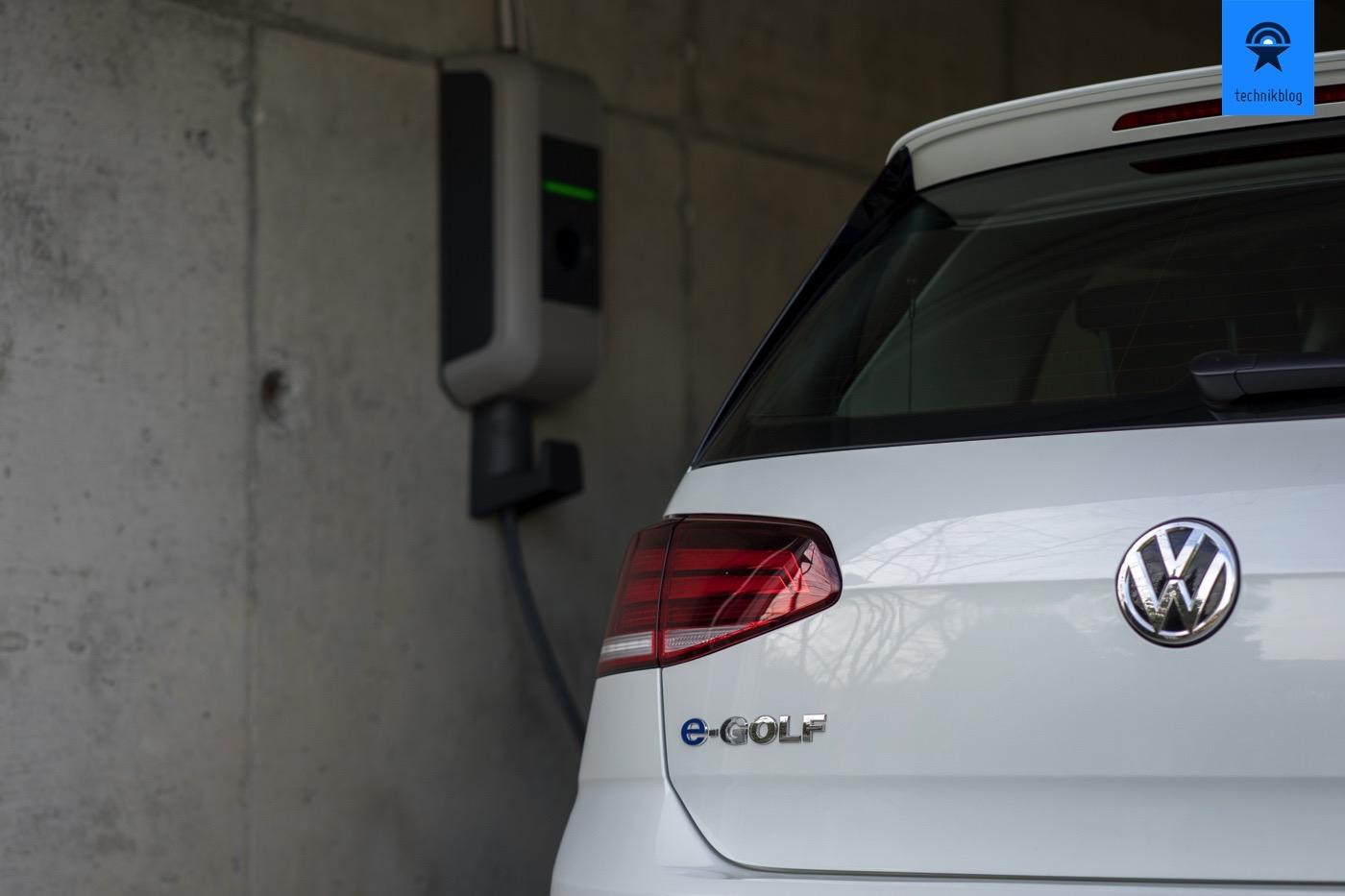 Keba P30 und VW e-Golf 2017