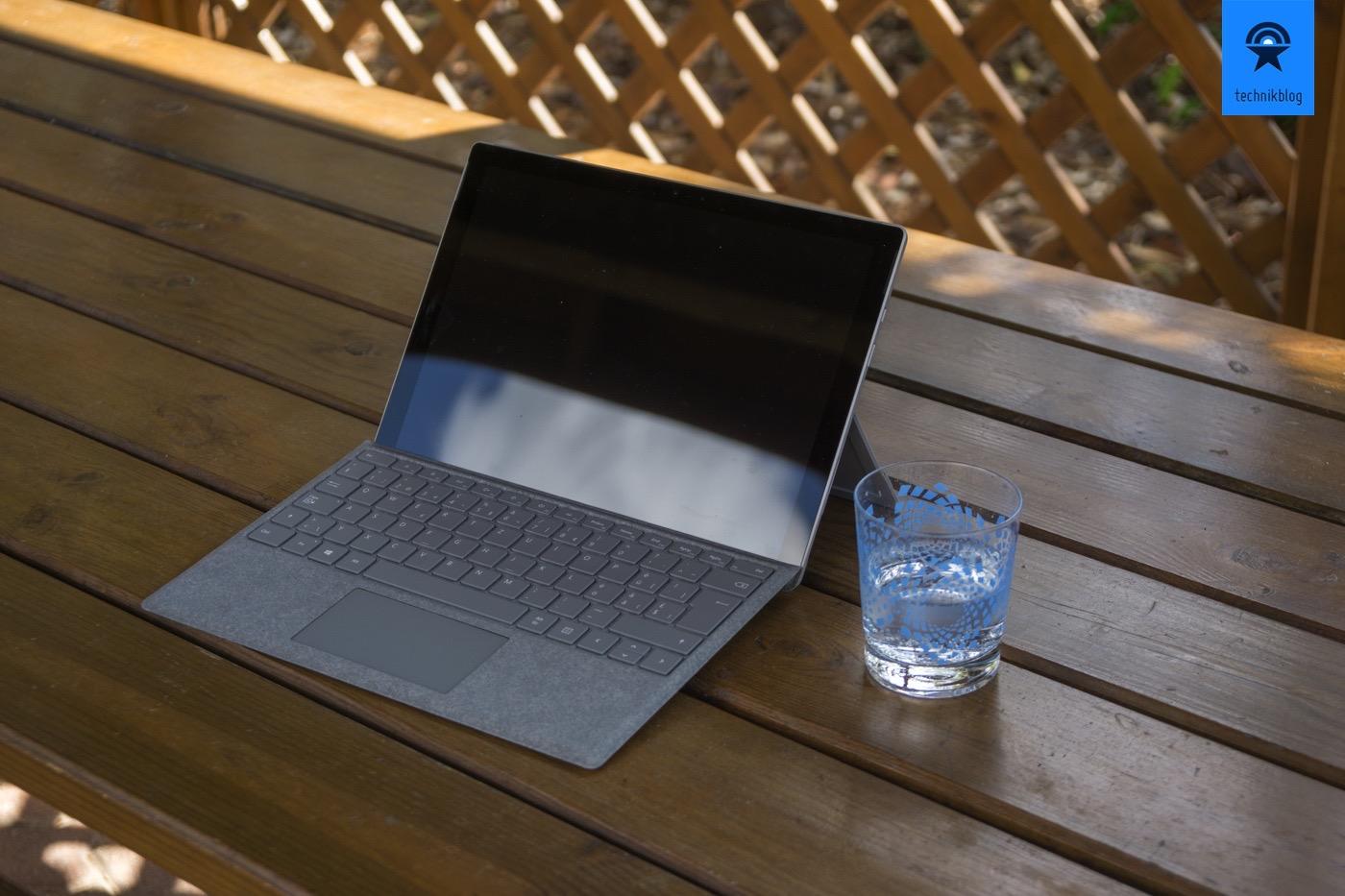 Microsoft Surface Pro im Urlaub