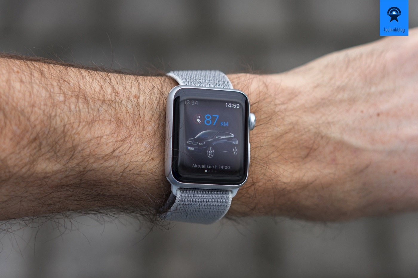 BMW Connected App auf der Apple Watch