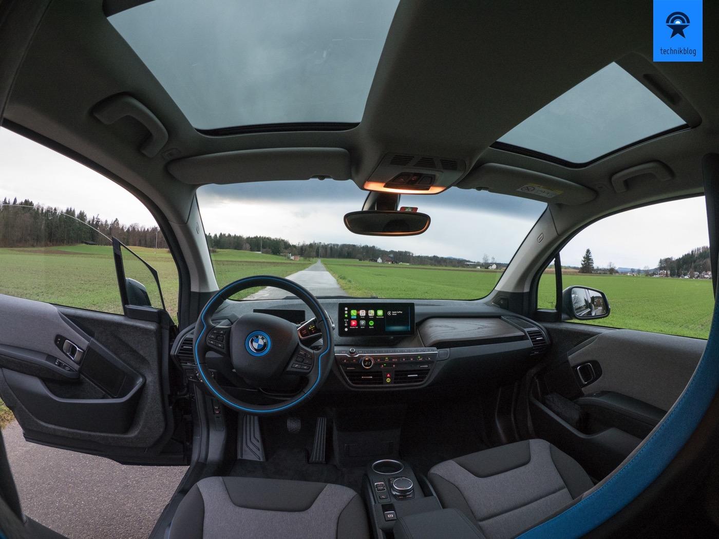 BMW i3 aus der Sicht des Fahrers