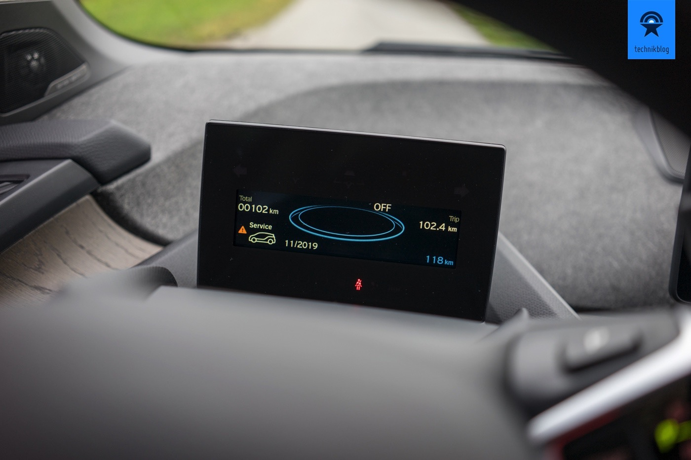 BMW i3 - Fahrer Display