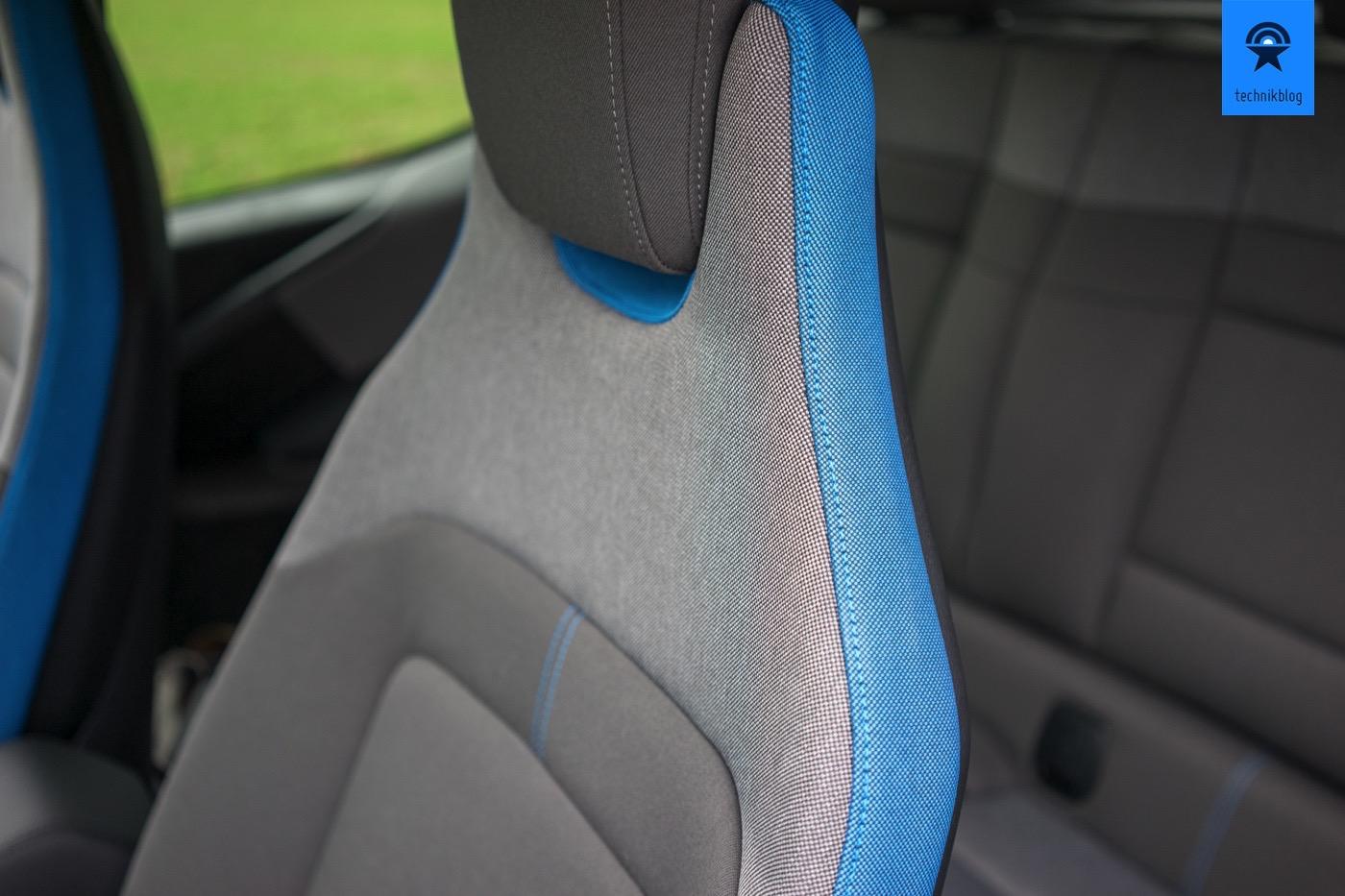BMW i3 Sitzpolster sind aus recyceltem PET