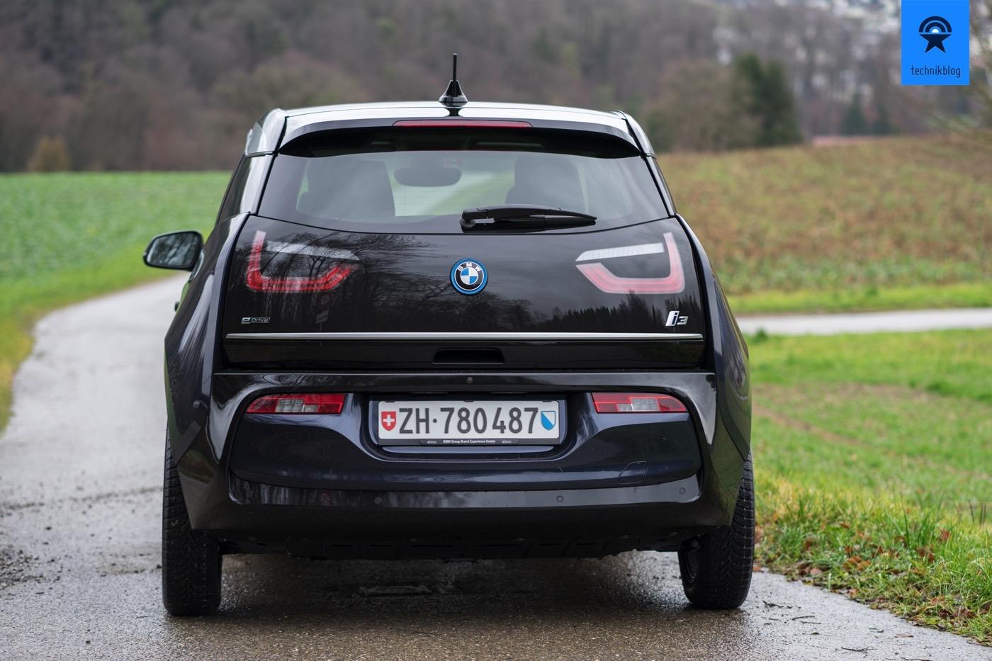 BMW i3 von hinten