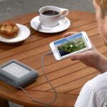 Lacie DJI Copilot: Backup Festplatte mit SD-Einschub für unterwegs