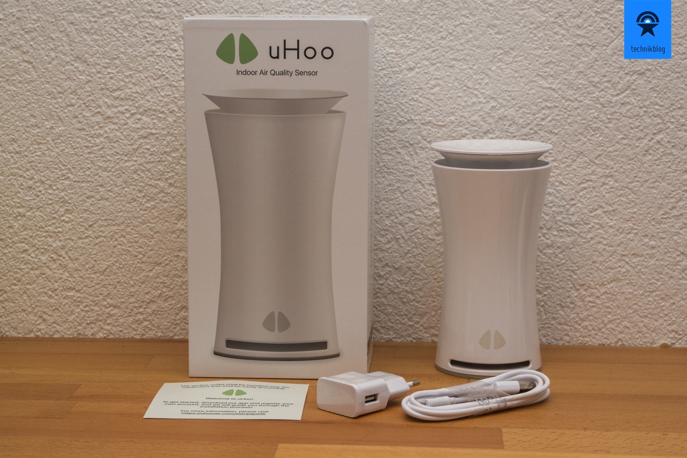 uHoo Raumluft Monitor - Lieferumfang