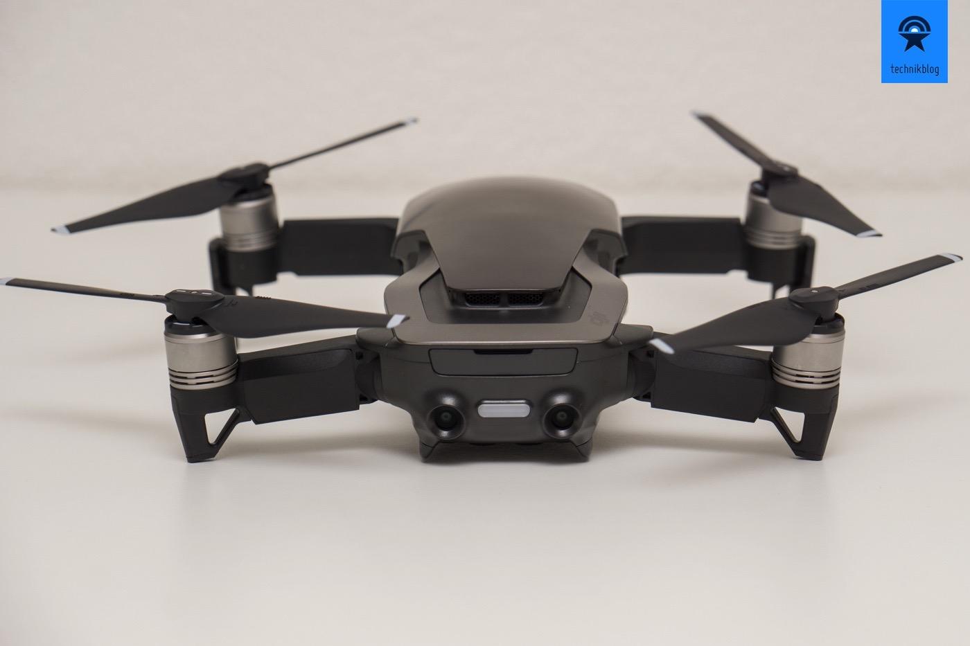 DJI Mavic Air: Sensoren auf der Rückseite