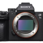 Sony A7III - front mirrorless