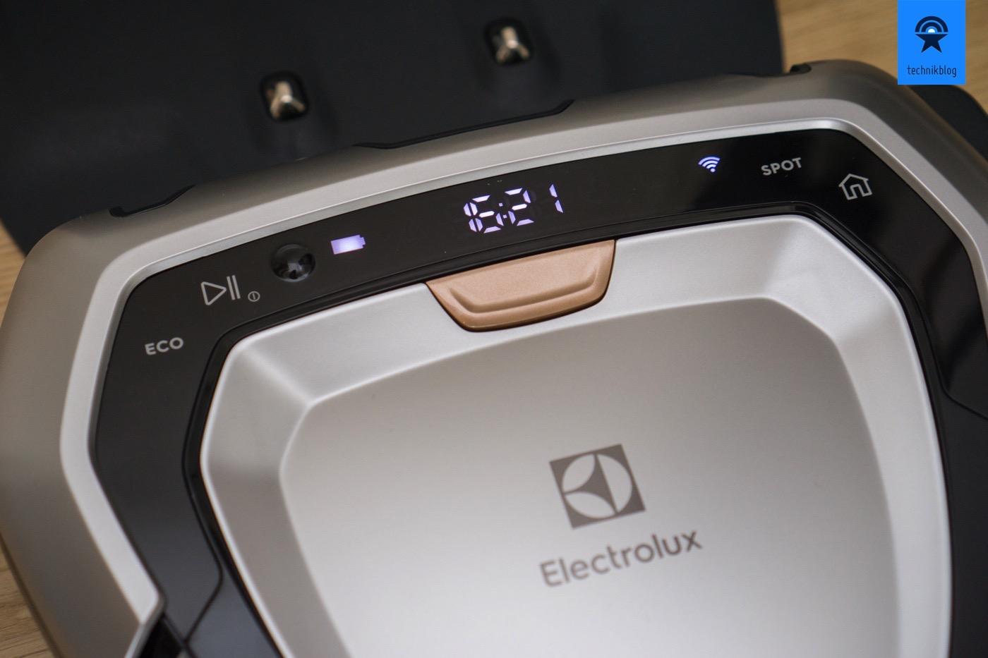 Den Electrolux Pure i9 erstmal aufladen