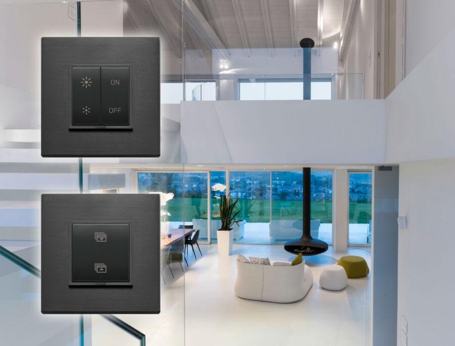 feller bietet schalter programm f r philips hue leuchten an. Black Bedroom Furniture Sets. Home Design Ideas