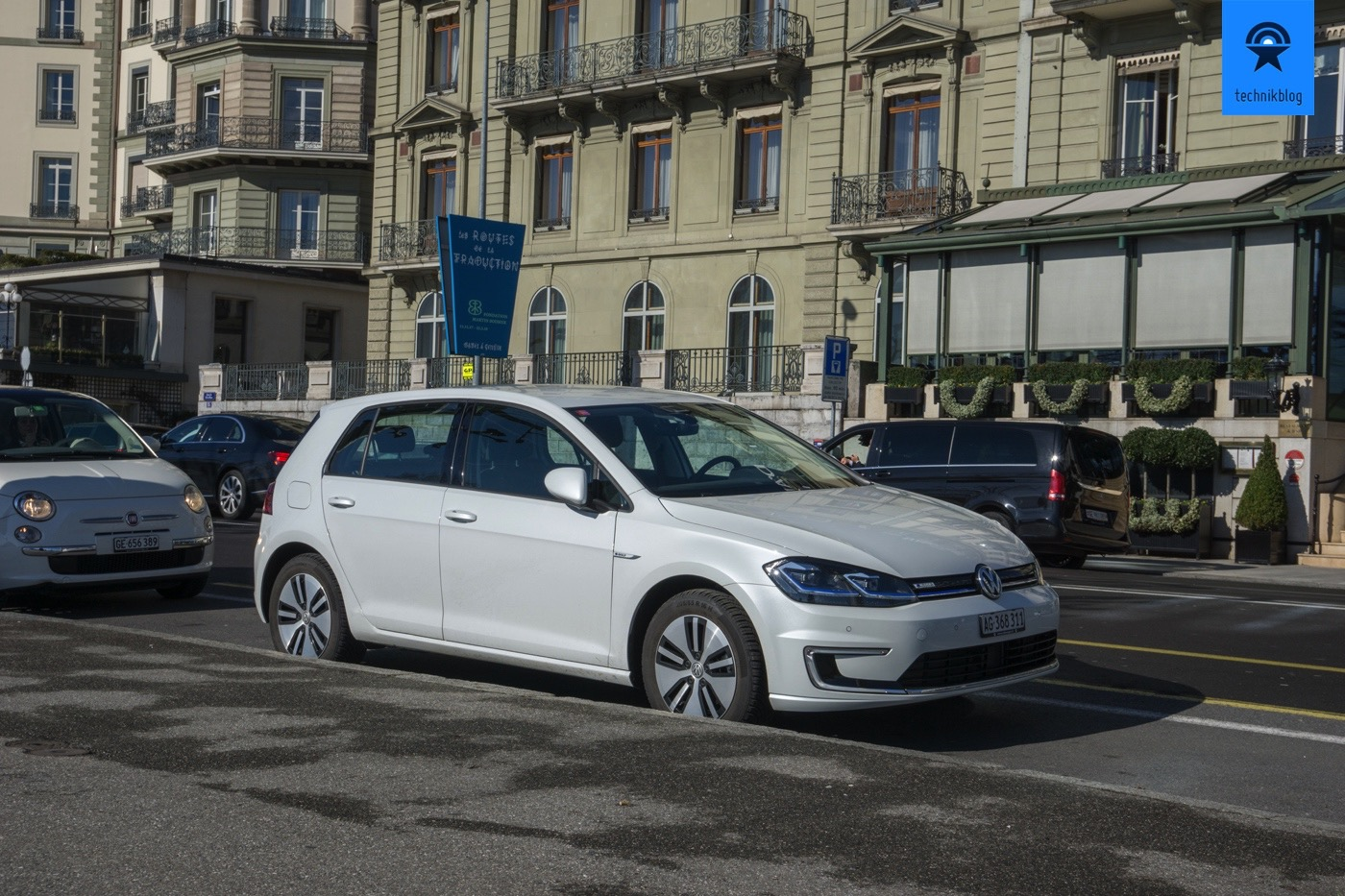 Mit dem VW e-Golf zur Geneva International Motor Show 2018