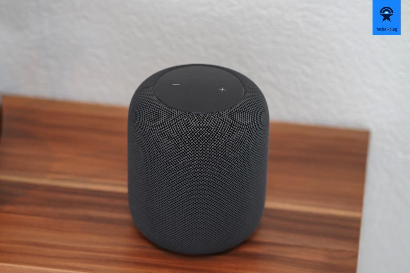 Apple HomePod im Einsatz