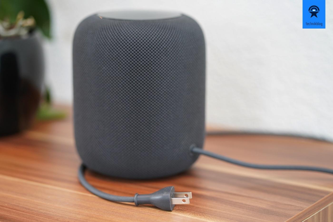 Apple HomePod und das fix verbaute Netzkabel