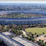 Apple Park - Screenshot von Duncan Sinfield Youtube
