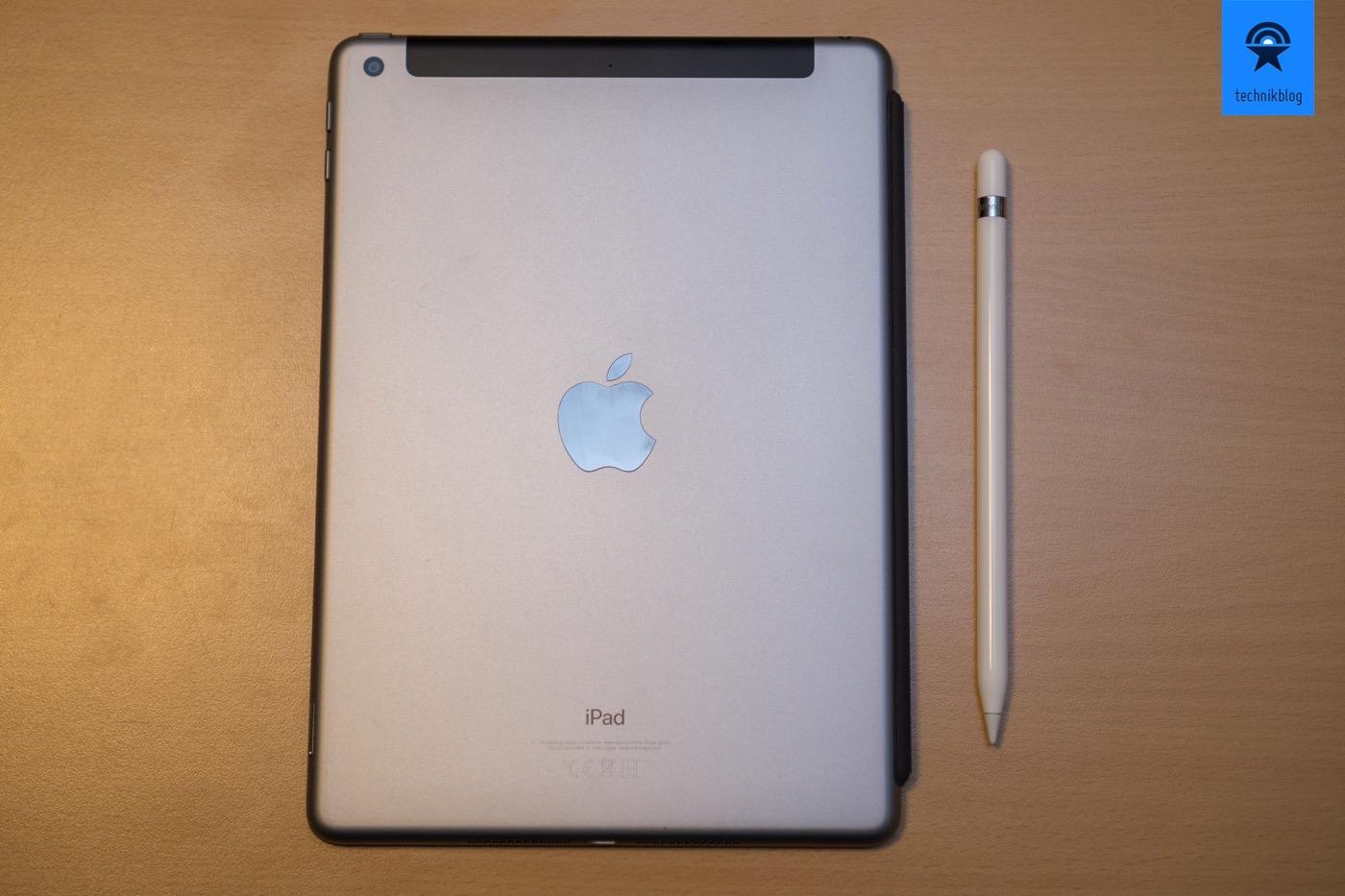 Apple iPad (2018) mit Apple Pencil