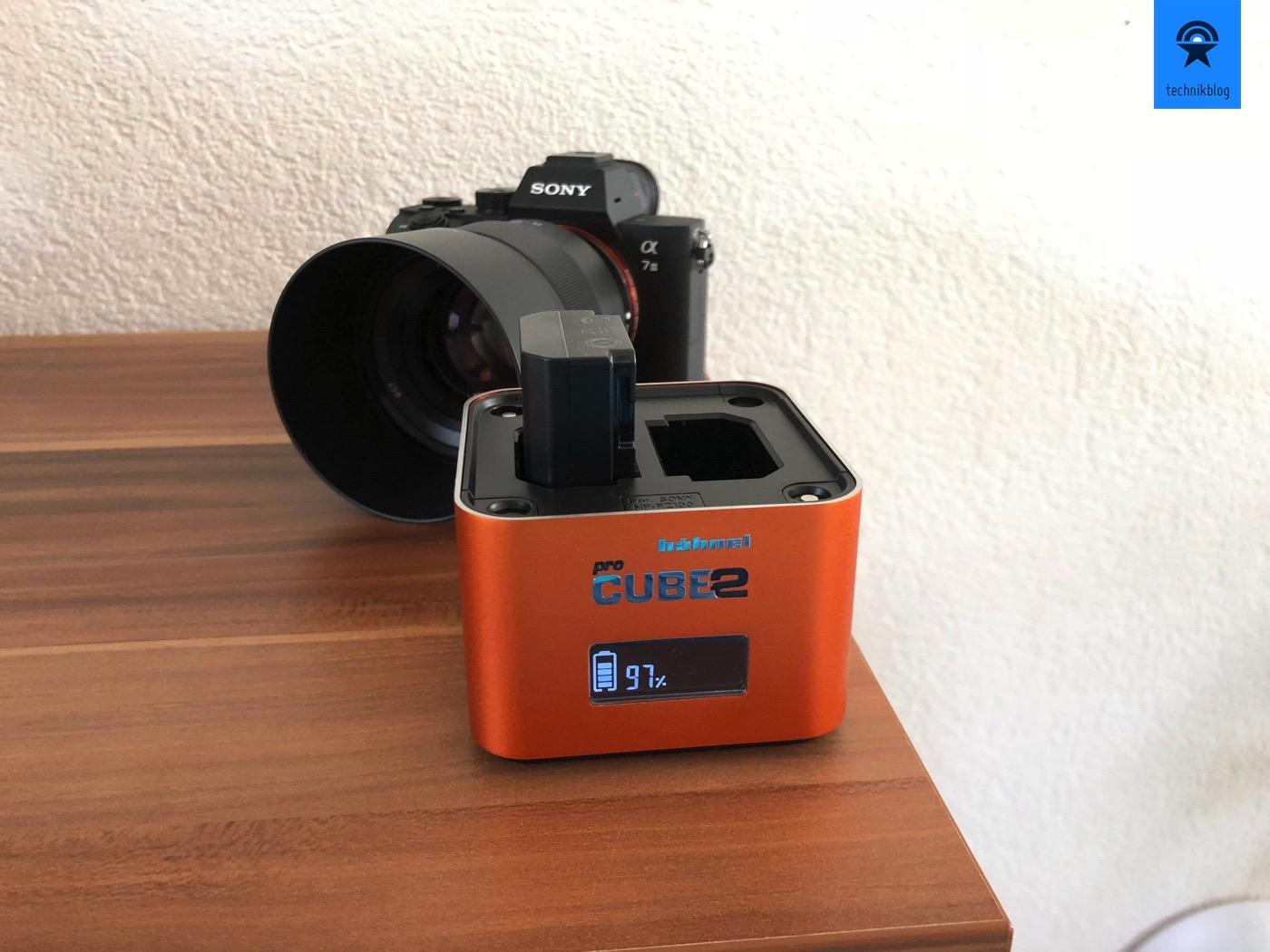 Hähnel Pro Cube 2 im Einsatz