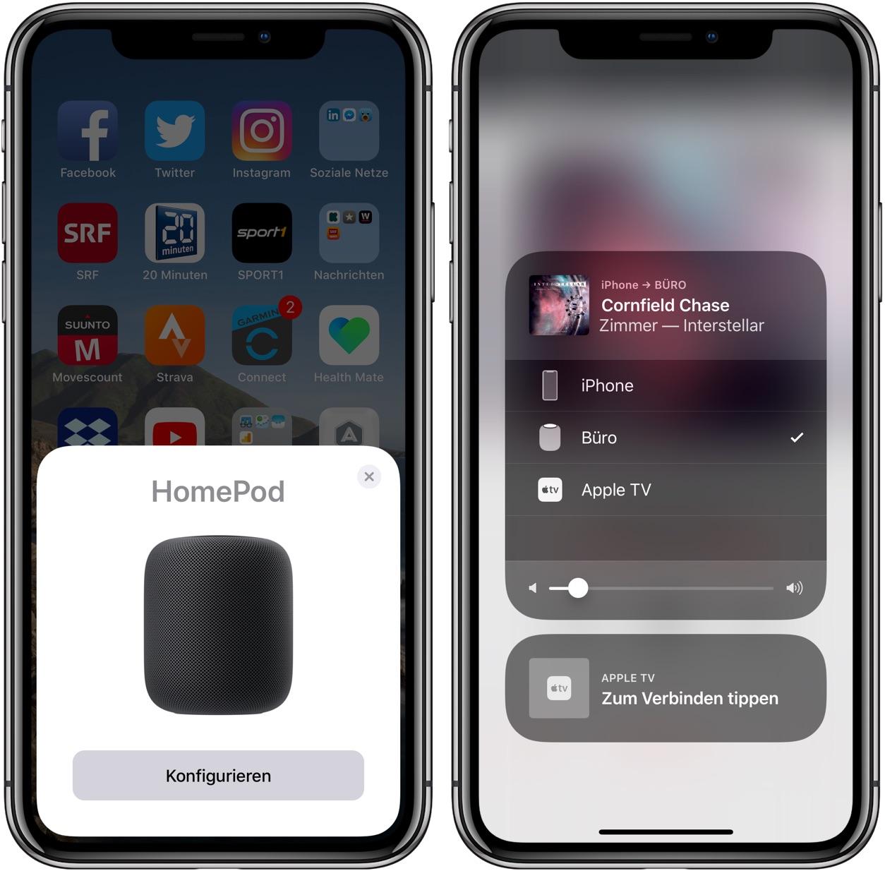 Apple HomePod einrichten