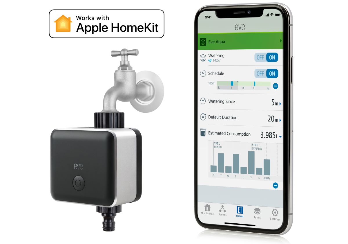 Elgato Eve Aqua mit Apple HomeKit