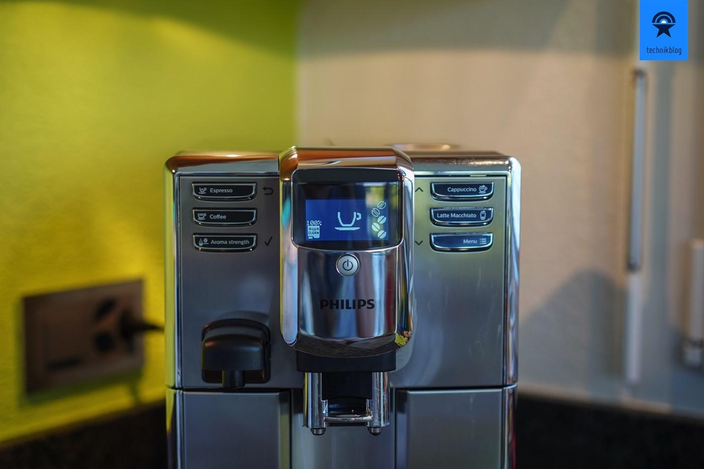 Philips EP5365/10 Kaffeevollautomat - Bedienung