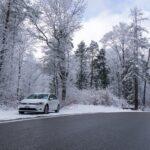 VW e-Golf im Schweizer Winter