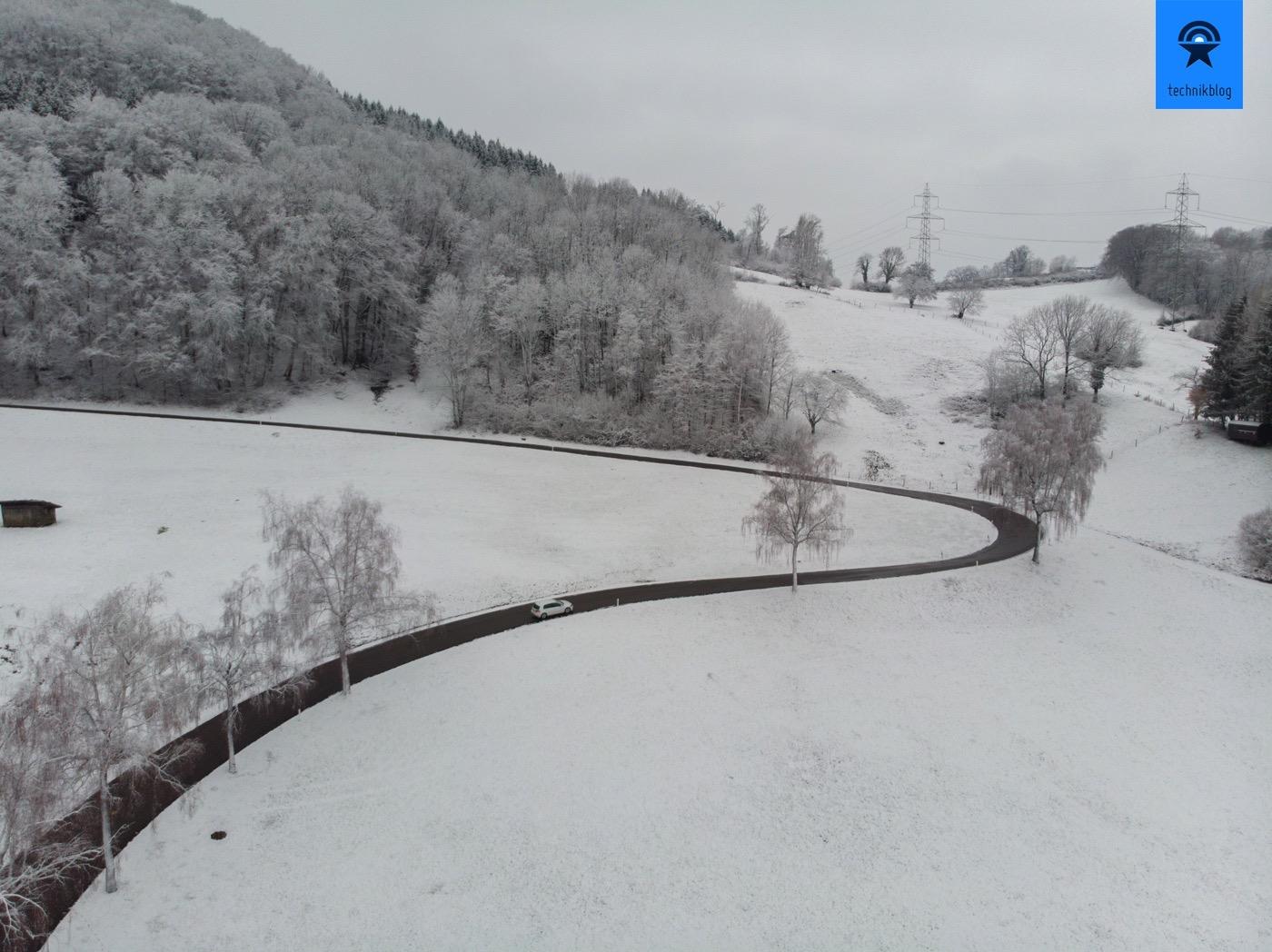 Mit dem VW e-Golf unterwegs im Winter