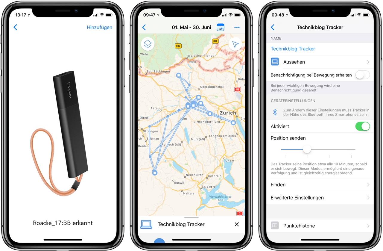 Invoxia GPS Tracker - App