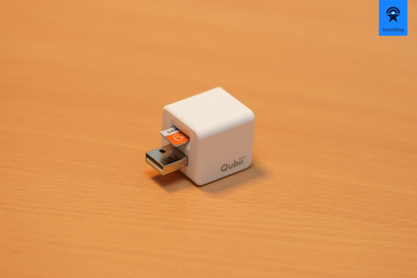 iOS Backup auf microSD-Karte mit Qubii