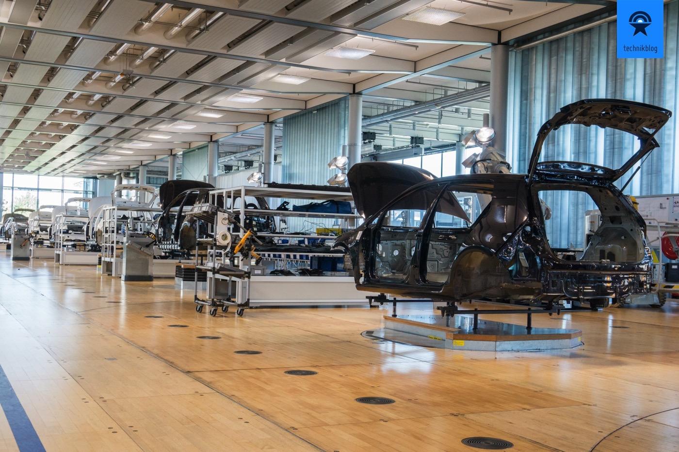 Produktionsanlage VW e-Golf in Dresden