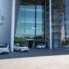 Besuch der gläsernen Manufaktur von VW in Dresden: Center of Future Mobility