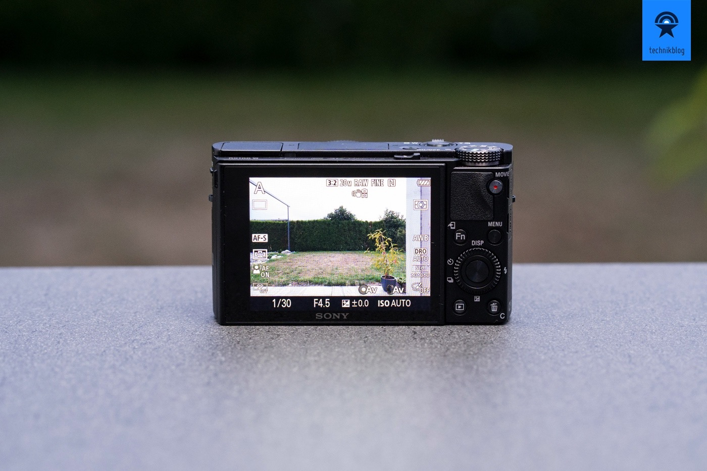 Sony RX100 VI Haptik