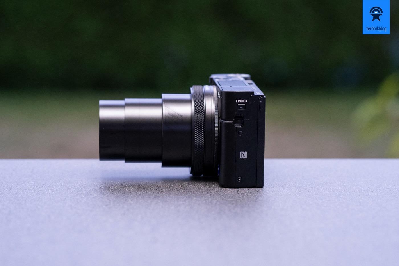 Das grosse 24-200mm Objektiv der Sony RX100 VI