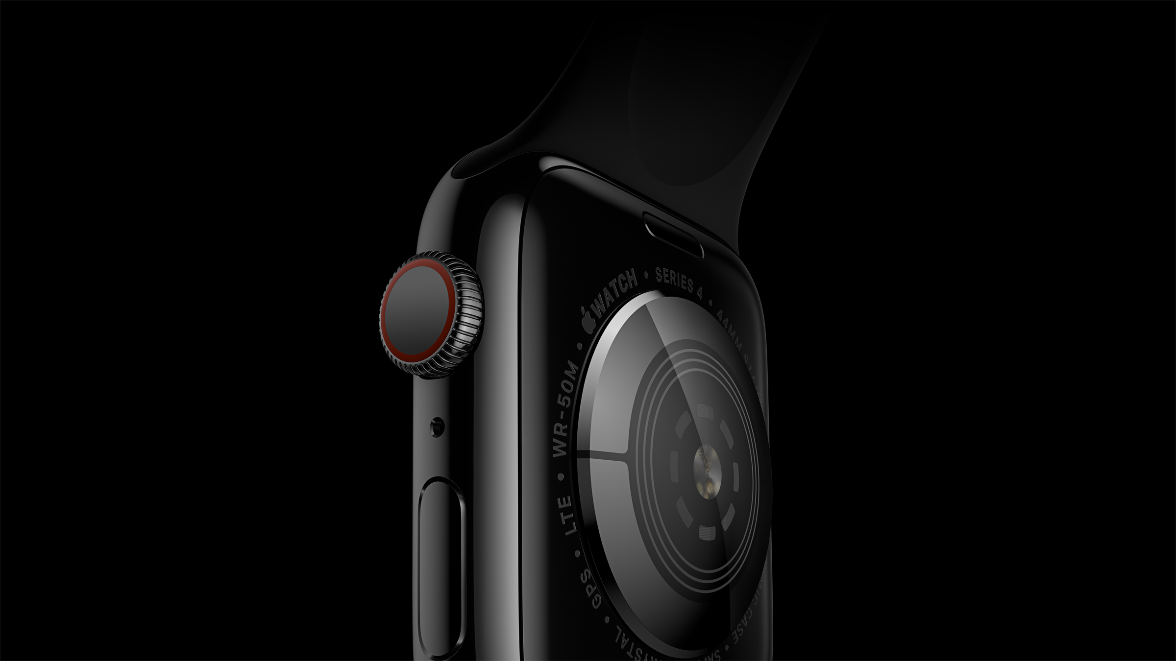Apple Watch Series 4 - Rückseite