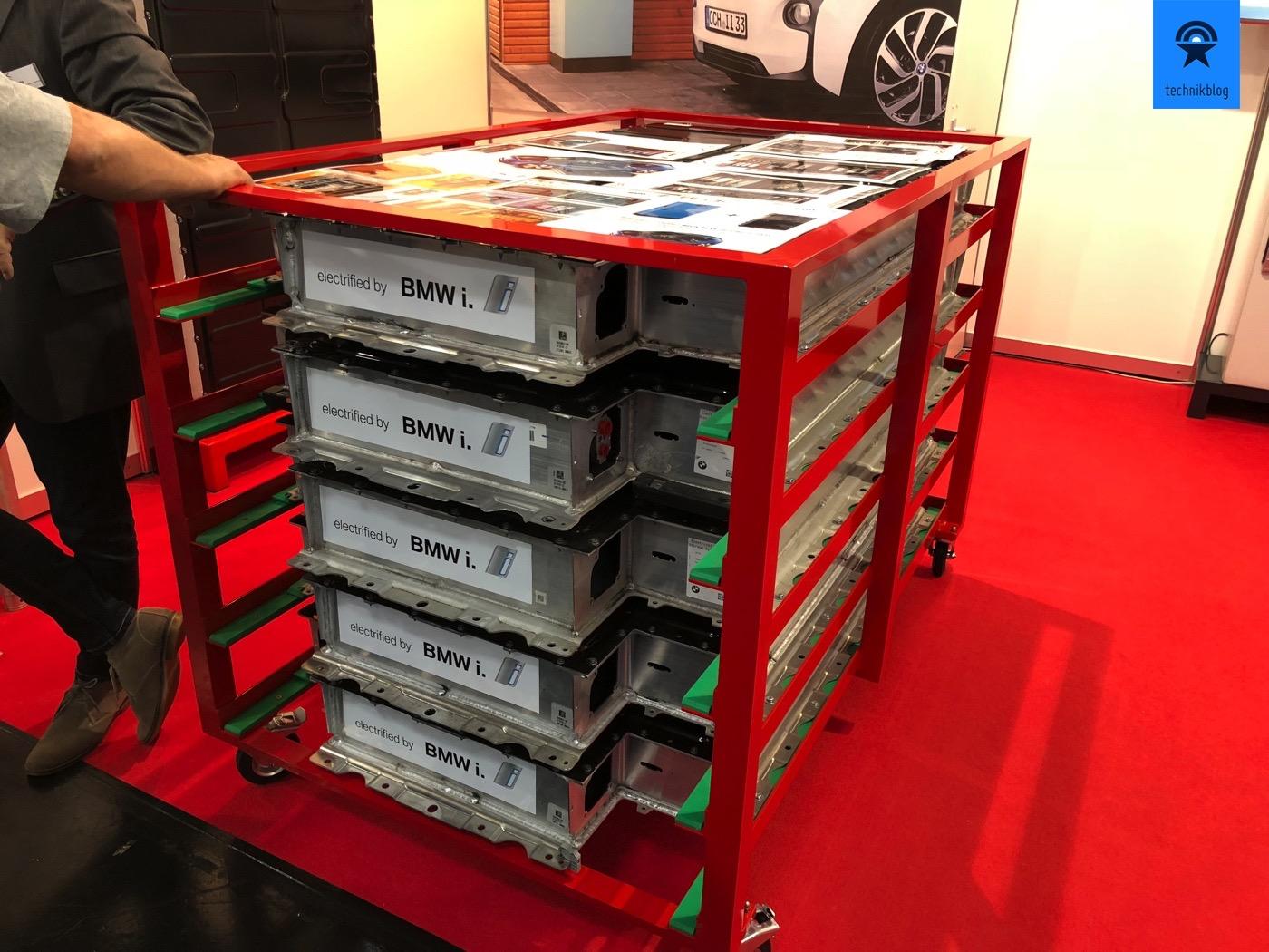 Batteriespeicher aus alten BMW i3 Akkupacks