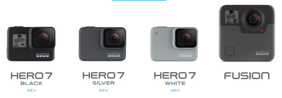 GoPro LineUp 2018