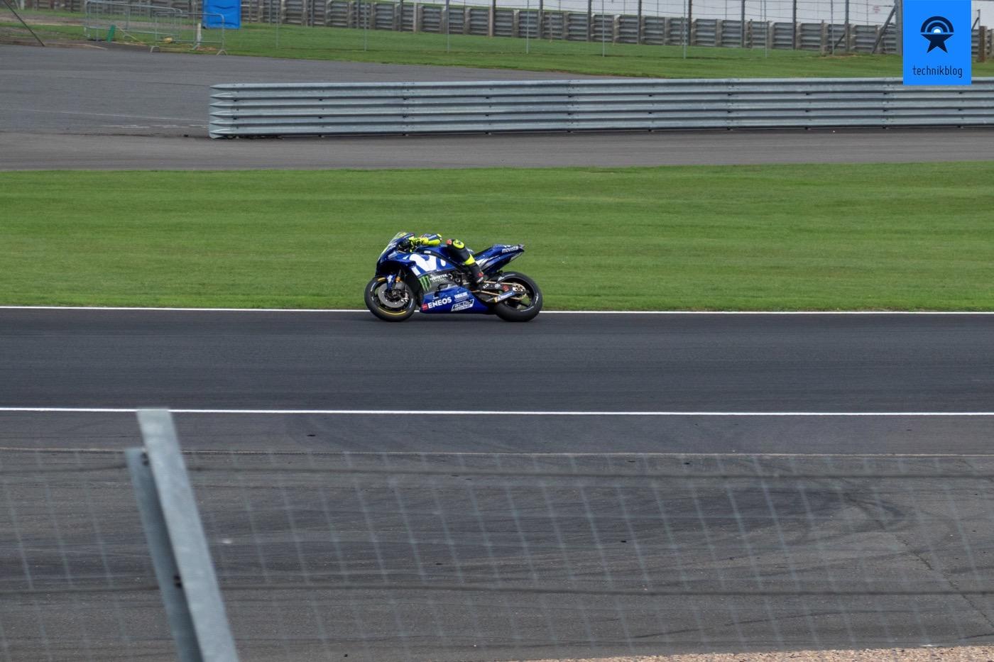 Valentino Rossi in Silverstone 2019