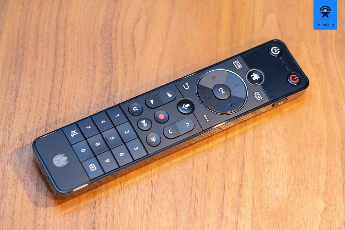Fernbedienung der UPC TV Box