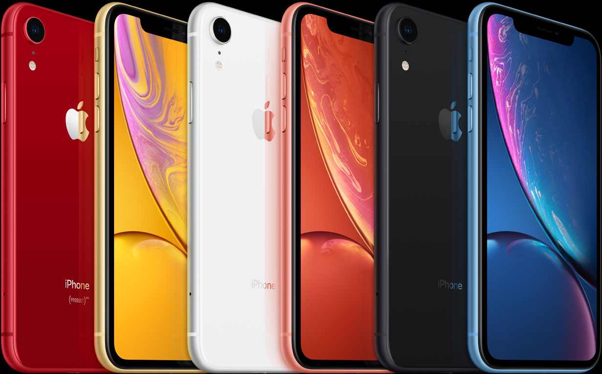 iPhone Xr Lineup