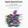 Apple Special Event am 30. Oktober 2018
