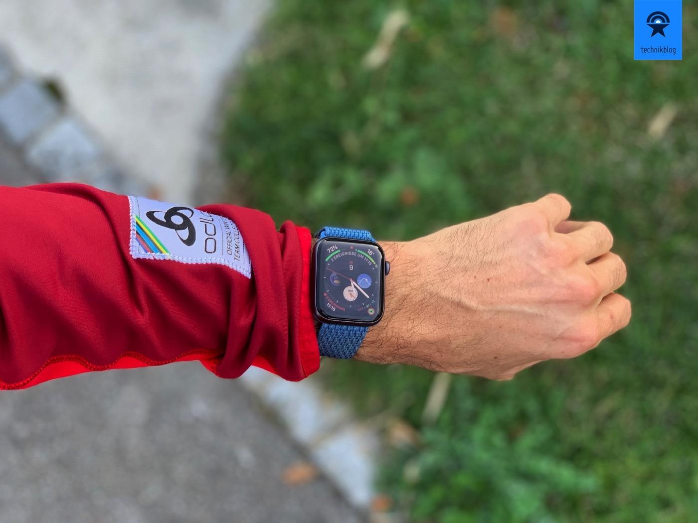 Apple Watch Series 4 als Sportuhr